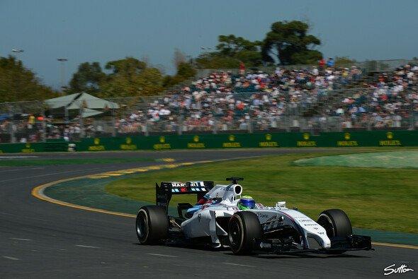 Felipe Massa war im 1. Training schon gut unterwegs
