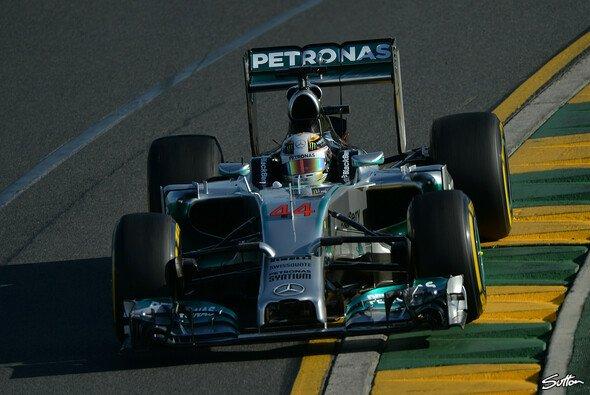 Lewis Hamilton holte sich die Bestzeit