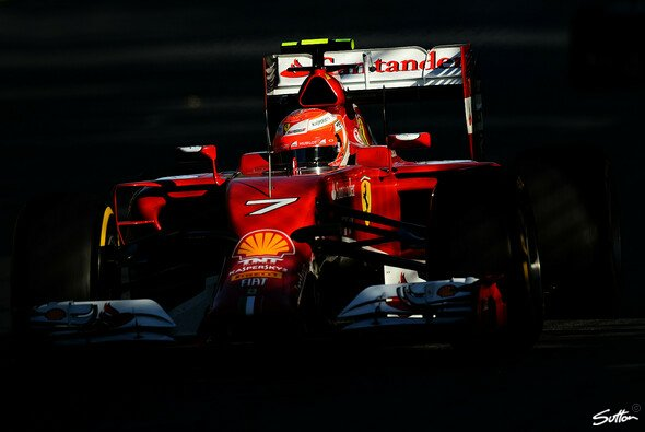 Bei Ferrari gibt es noch Licht und Schatten - Foto: Sutton