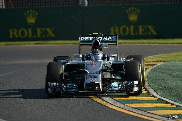 Nico Rosberg schnappte sich die Bestzeit