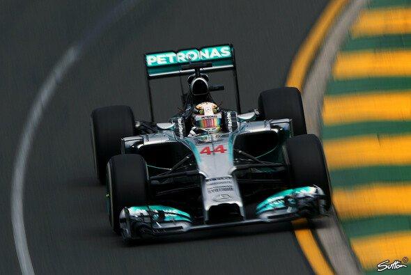 Pole für Lewis Hamilton!