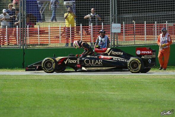 Pastor Maldonado musste seinen E22 bereits nach rund der Hälfte des Rennens mit Problemen an MGU-K abstellen