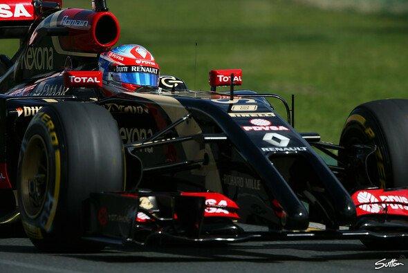 Romain Grosjean ist gierig auf die großen Schritte