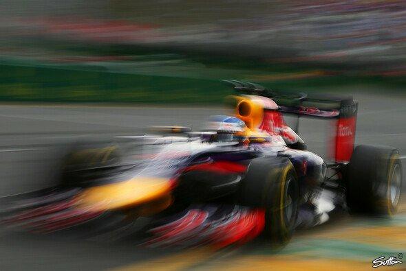Sebastian Vettel kam nicht weit