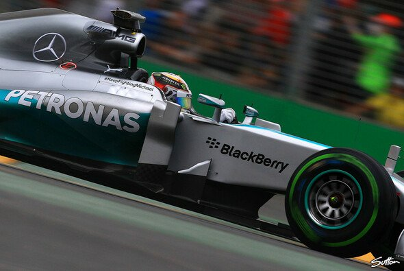 Lewis Hamiltons Motor steht auf dem Prüfstand