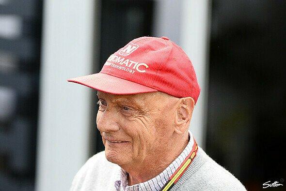 Niki Lauda stand Rede und Antwort