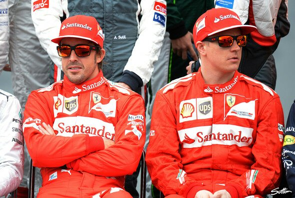 Fernando Alonso hat kein Problem mit Kimi Räikkönen