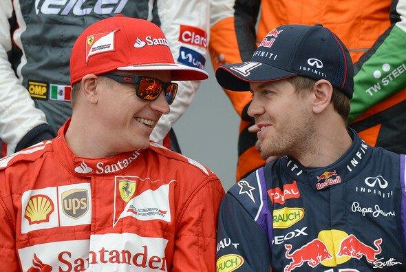 Sebastian Vettel und Kimi Räikkönen wollen Ferrari mit Teamplay an die Spitze führen - Foto: Sutton