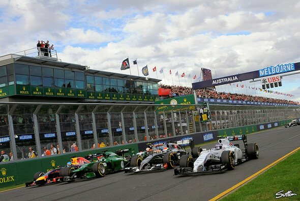 Chaos pur beim Saisonauftakt der Formel 1 in Australien - Foto: Sutton