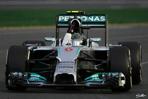 Nico Rosberg gewann zum ersten Mal in Australien - Foto: Sutton