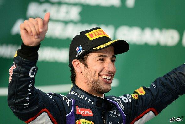 Zu früh gefreut? Ricciardo droht eine Disqualifikation - Foto: Sutton