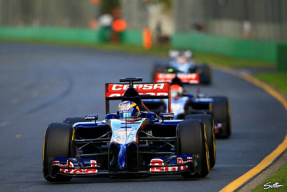 Toro Rosso feierte einen gelungen Saisoneinstand - Foto: Sutton