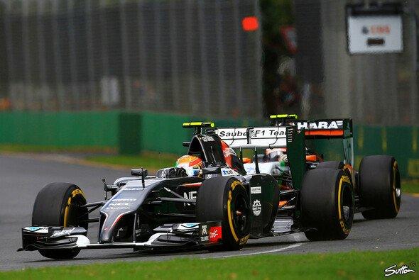 Mit Rang dreizehn begann die zweite Formel-1-Saison für Esteban Gutierrez