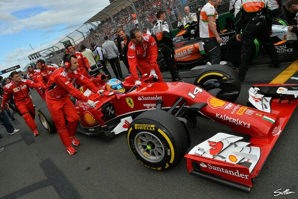 Fernando Alonso belegte Rang vier
