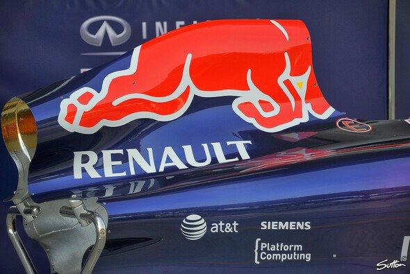 Sebastian Vettel war schnell - aber nur im Windschatten