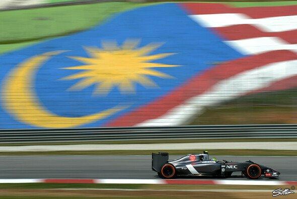 Sauber erlebte in Malaysia ein Wochenende zum Vergessen