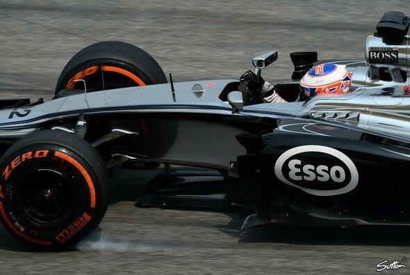 Jenson Button hat in Bahrain etwas zu feiern