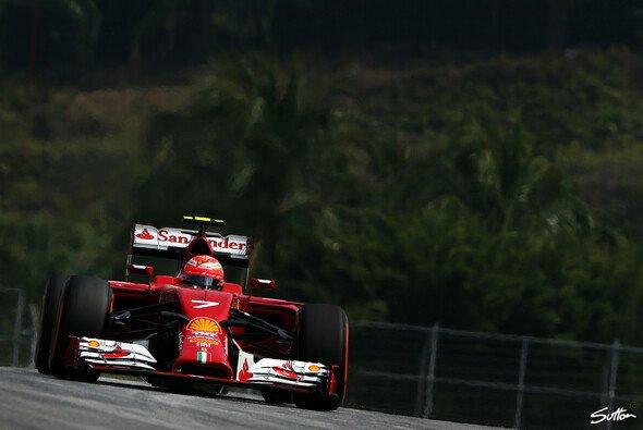 Kimi Räikkönen hatte den zweiten Platz gebucht