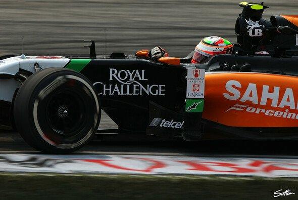 Sergio Perez ist vom neuen Racing der Formel 1 noch nicht überzeugt