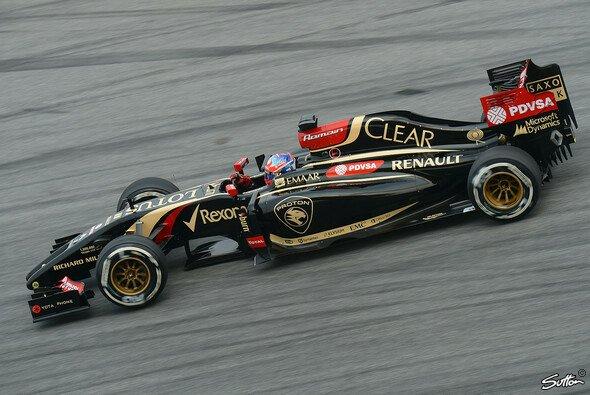 Romain Grosjean zeigte in Malaysia eine ansprechende Leistung
