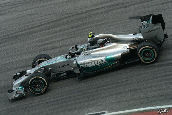Nico Rosberg baute seinen Vorsprung aus