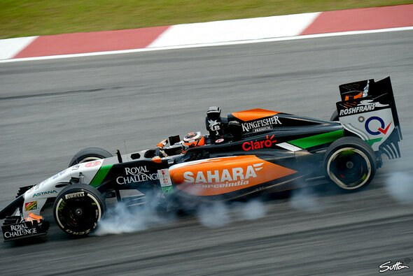 Hart am Limit: Die neue Formel 1 ist fahrerisch anspruchsvoller, meint Nico Hülkenberg - Foto: Sutton