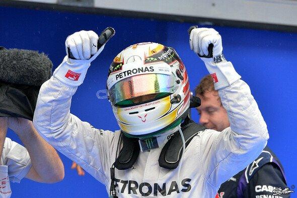 Lewis Hamilton steht auf Pole Position