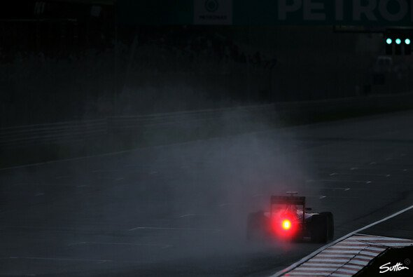 Der Regen ist neben Defekten die einzige Mercedes-Gefahr