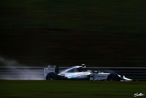 Nico Rosbergs Silberpfeil war bislang schwer zu schlagen