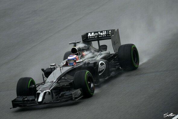 Jenson Button hat sich in Sachen Reifen verpokert