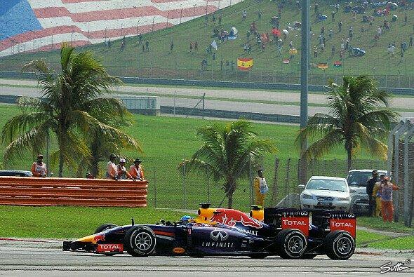 Sebastian Vettel steht wieder auf dem Podest