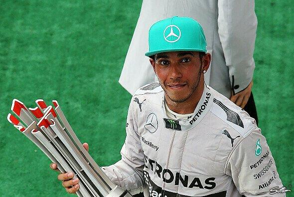 Lewis Hamilton dankte seinem Team und gedachte der Flug-Opfer