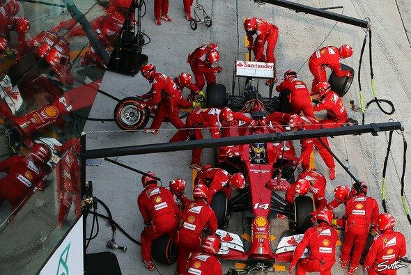 Fernando Alonso wurde am schnellsten abgefertigt