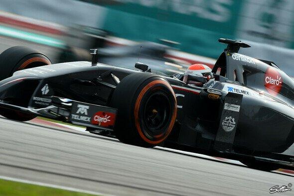 Adrian Sutil wartet noch auf die ersten Punkte