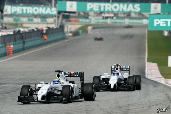 Die Williams-Teamorder war einer der Malaysia-Aufreger - Foto: Sutton
