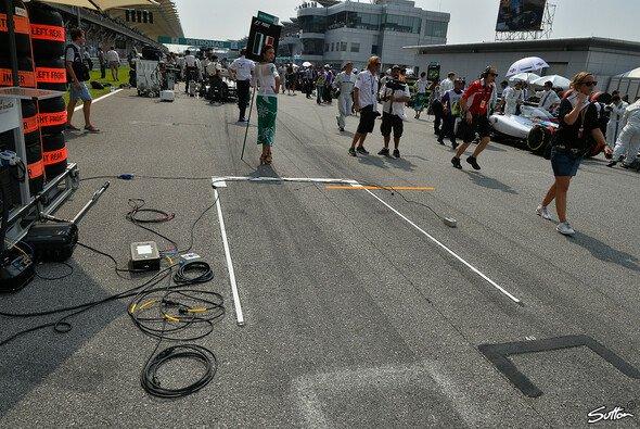 Das Rennen in Malaysia war für Perez vorbei, ehe es überhaupt angefangen hatte