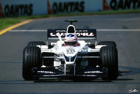 Jenson Buttons F1-Karriere begann heute vor 21 Jahren - Foto: Sutton