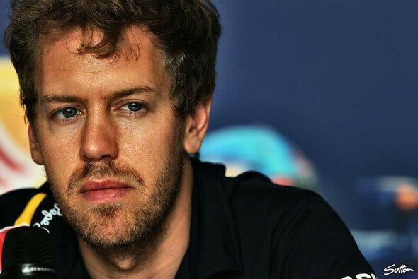 Sebastian Vettel macht sich um die Tabelle derzeit keine Gedanken
