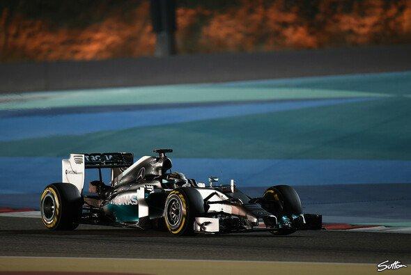 Lewis Hamilton beendete den Tag als Schnellster