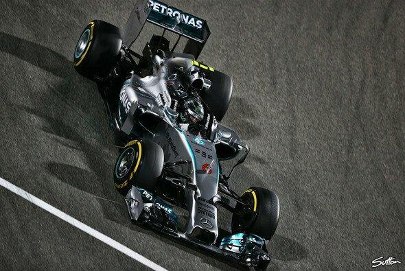 Nico Rosberg geht voller Optimismus ins Rennwochenende in Bahrain