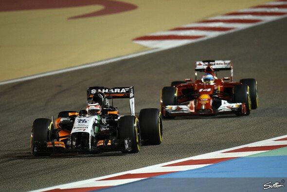 Hülkenberg hält Alonso und Co. in Schach