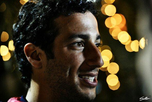 Daniel Ricciardo verlor beim Heimrennen den zweiten Platz