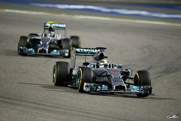 Mercedes dominierte in Bahrain nach Belieben
