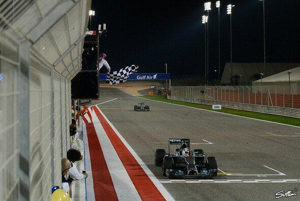 Mercedes ist neuer Doppelsieg-Rekordhalter - Foto: Sutton