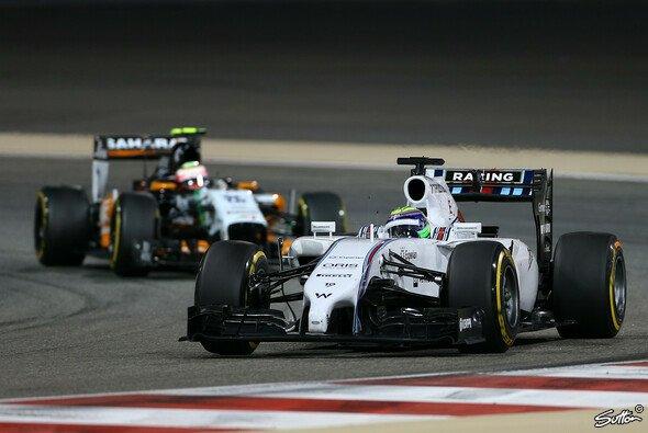Felipe Massa wurde erneut als Schnellster geblitzt
