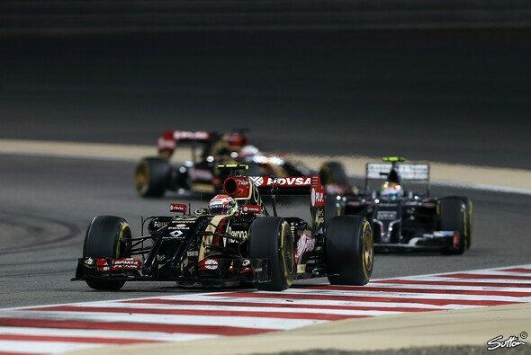 Lotus erlebte beim Rennen in Bahrain die erste doppelte Zielankunft der Saison