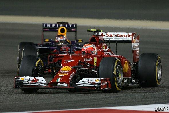 Kimi Räikkönen beendete den Bahrain GP auf Platz neun