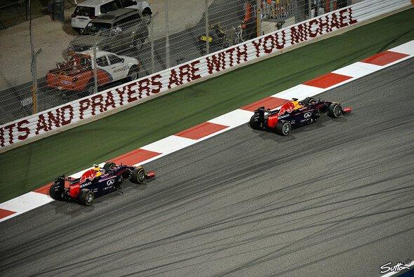 Im Verlgeich mit dem Teamkollegen fehlte Vettel auf den Geraden der Speed