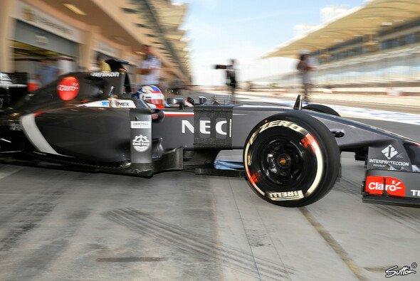 Sergey Sirotkin drehte seine ersten Runden im aktuellen F1-Auto