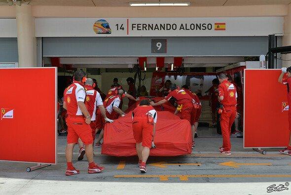 Der Bahrain-Test ist für Ferrari zu Ende